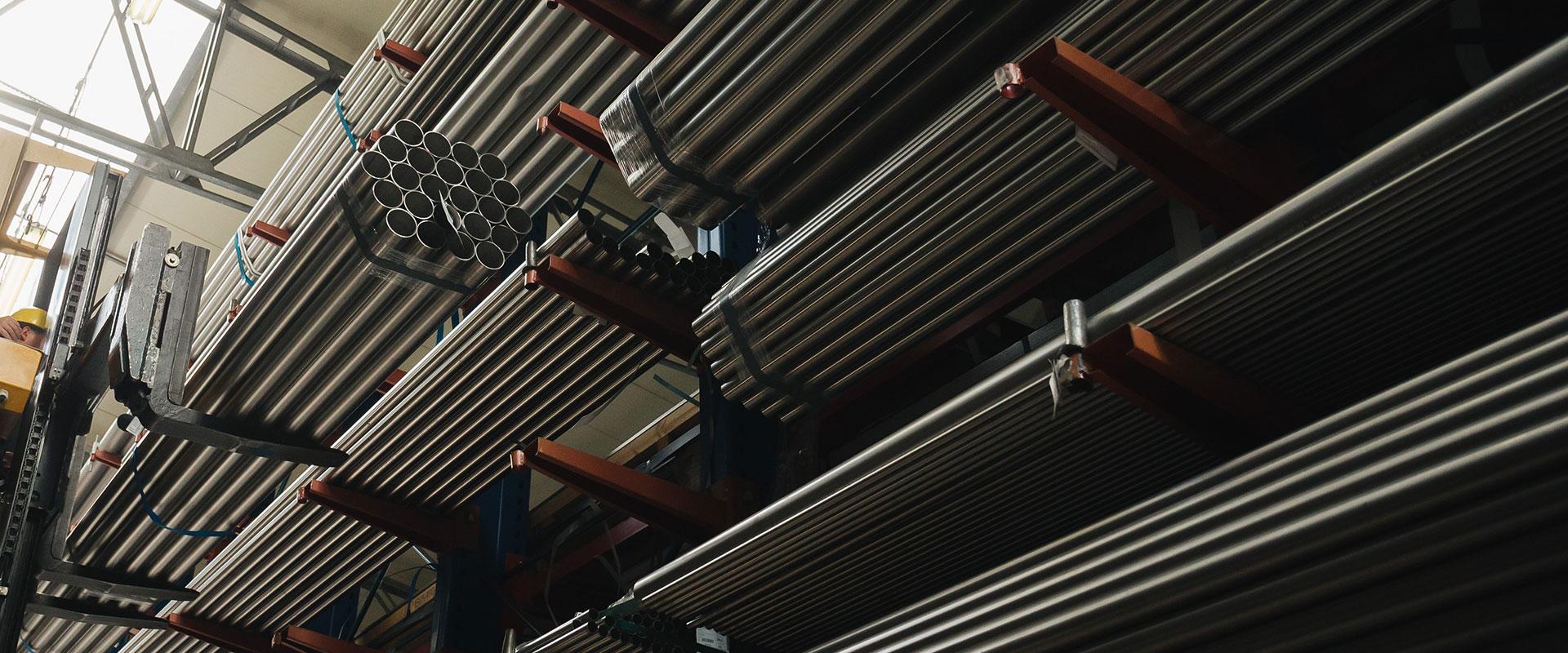 tubi inox - tecnoacciai vendita acciaio inox, siderurgica, acciai per industria meccanica, impiantistica